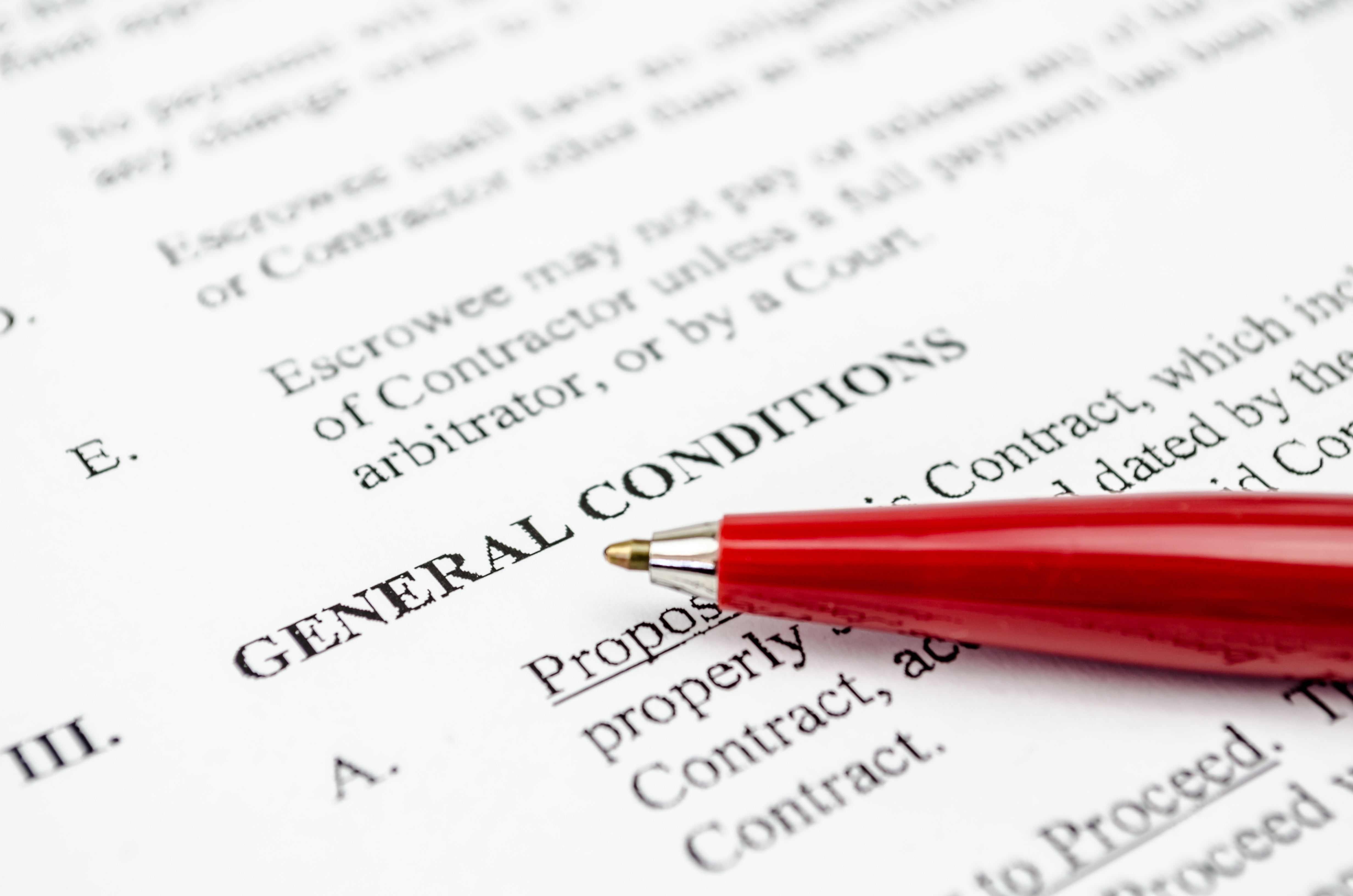 General Terms and Conditions of Carriage